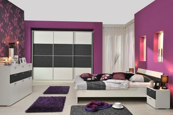 Lila Schlafzimmer U2013 31 Super Kreative Beispiele!