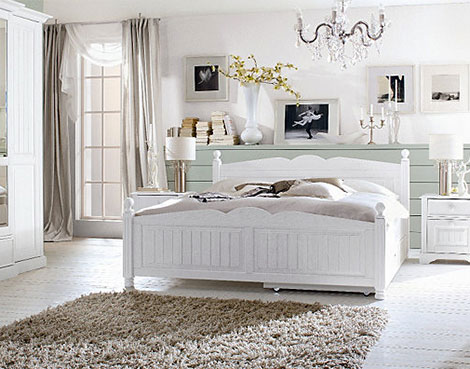 Schlafzimmer gestalten romantisch