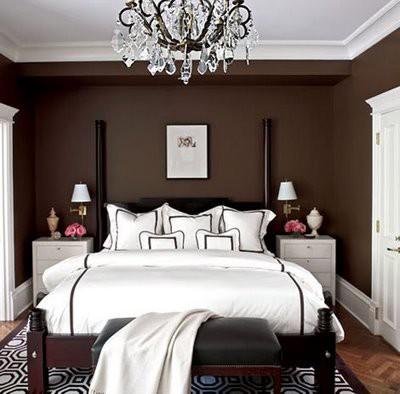 Schlafzimmer ideen braun