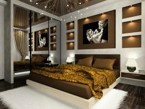 Schlafzimmer schöne schlafzimmer braun : Bettwäsche in Braun ...
