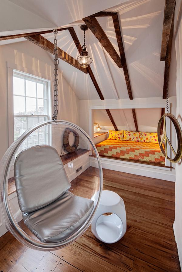 Dachschräge Beleuchtung schlafzimmer ideen dachschräge