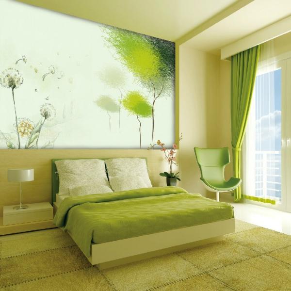 Schlafzimmer Ideen Grün