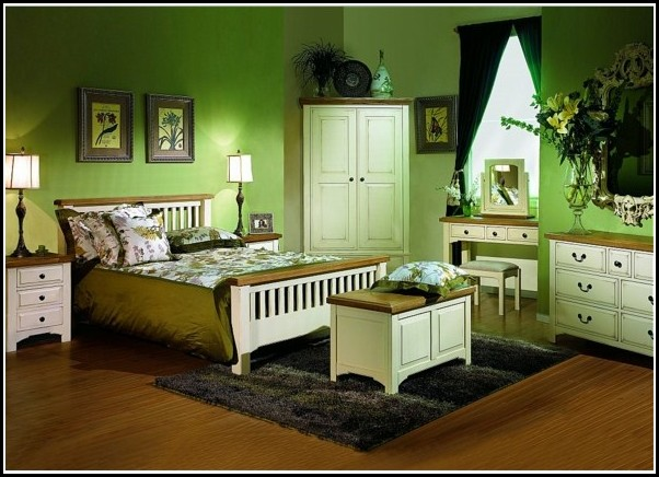 schlafzimmer ideen gr n. Black Bedroom Furniture Sets. Home Design Ideas