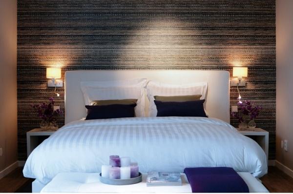 schlafzimmer tapezieren ideen - Schlafzimmer Modern Tapezieren
