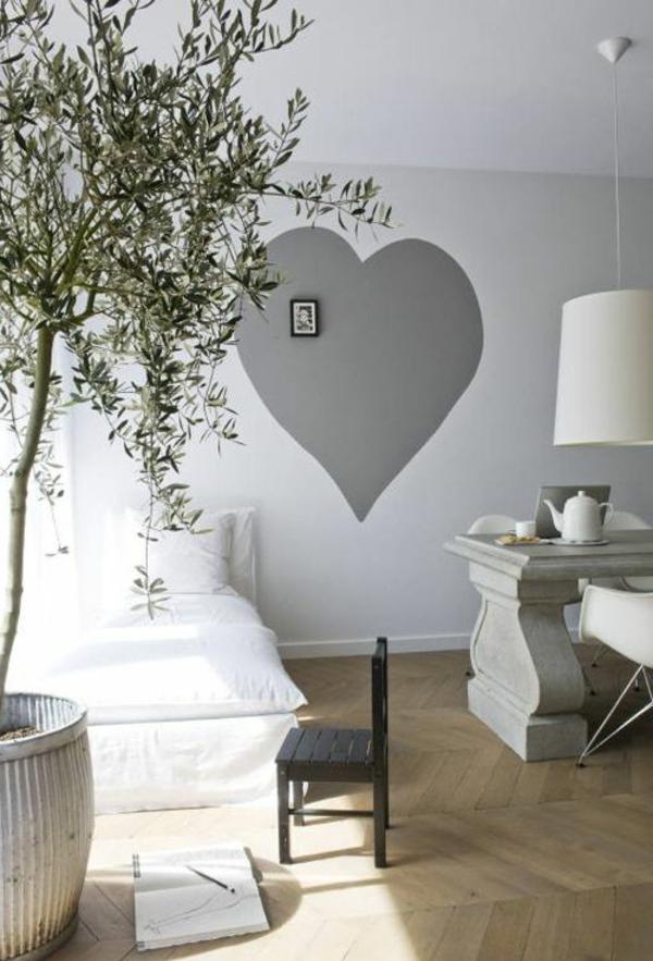 schlafzimmer w nde streichen ideen. Black Bedroom Furniture Sets. Home Design Ideas