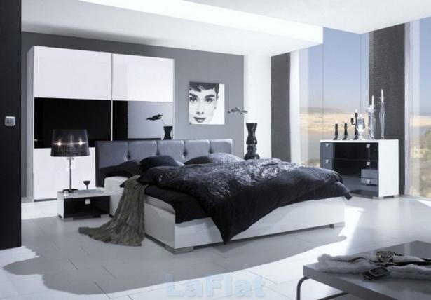 Schwarzes schlafzimmer gestalten