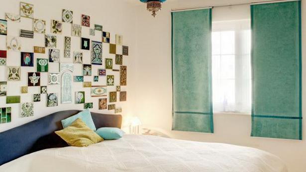 Vorhang ideen schlafzimmer