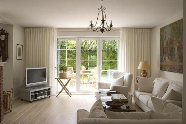 Vorhang ideen wohnzimmer