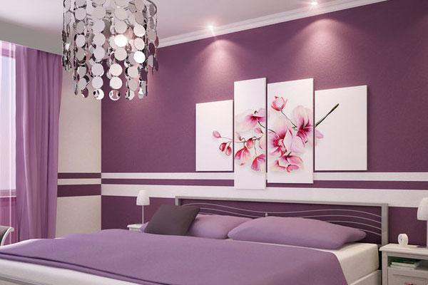 Wände Streichen Ideen Schlafzimmer Gestalten Luxuriös Dunkle Akzentwand