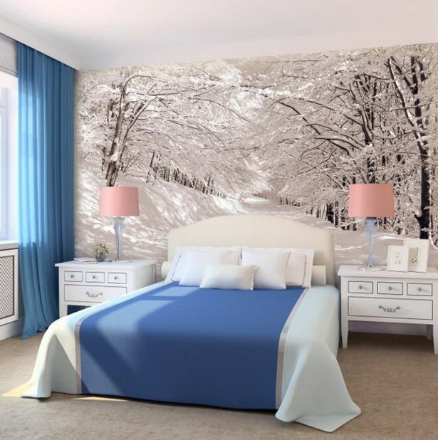 Wandgestaltung ideen schlafzimmer