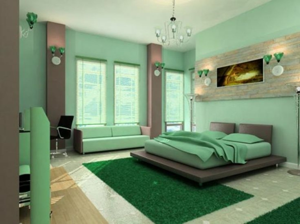 wandgestaltung schlafzimmer dachschr ge. Black Bedroom Furniture Sets. Home Design Ideas