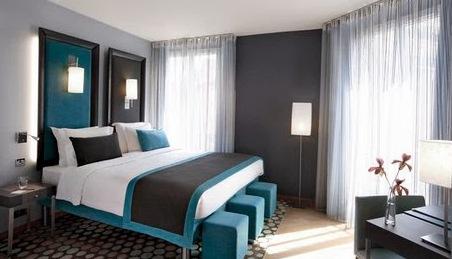 wandgestaltung schlafzimmer grau. Black Bedroom Furniture Sets. Home Design Ideas