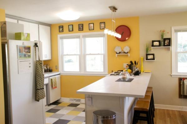 Wohnideen küche farbe