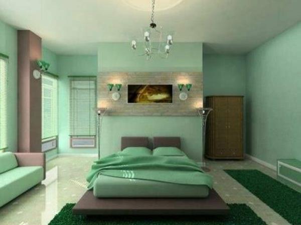 Wohnideen schlafzimmer farbgestaltung