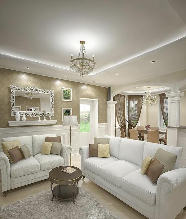 Wohnideen wohnzimmer beige braun