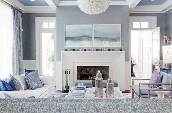 Wohnideen wohnzimmer grau weiß