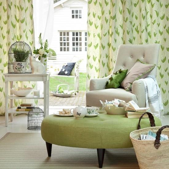 Wohnideen Wohnzimmer Grün Modern Minimalistisch