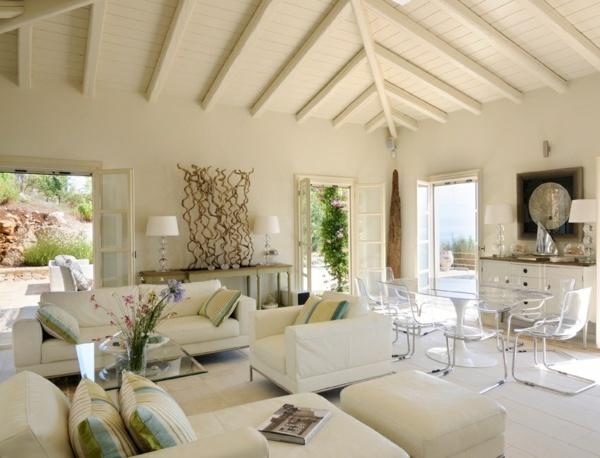 wohnideen wohnzimmer mediterran. Black Bedroom Furniture Sets. Home Design Ideas