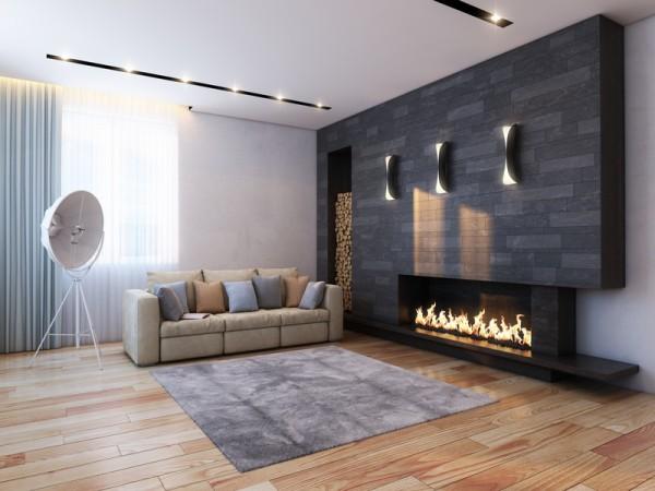 Kamin Wohnzimmer Modern : Wohnzimmer bilder ideen