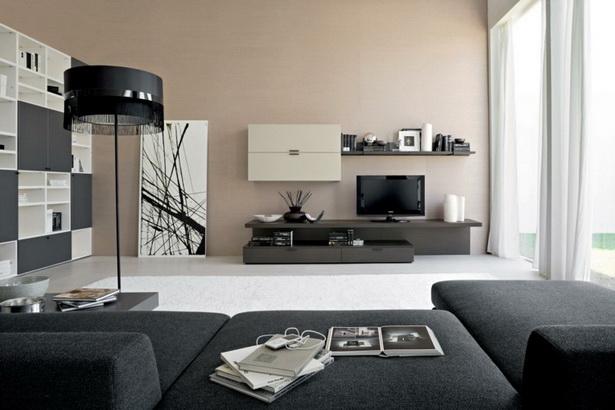 wohnzimmer dunkle m bel. Black Bedroom Furniture Sets. Home Design Ideas