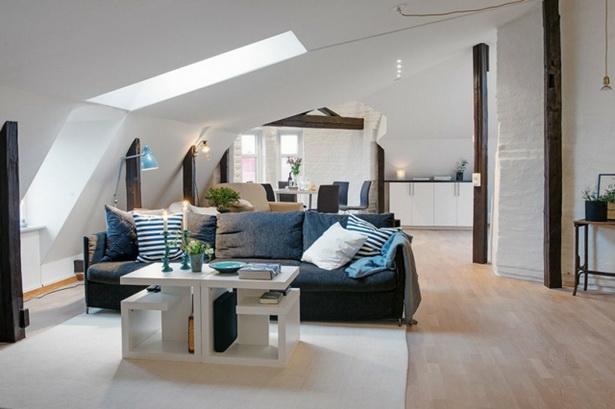 Wohnzimmer ideen dachschräge