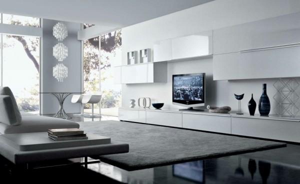Wohnideen Wohnzimmer Grau Weiß wohnzimmer ideen grau