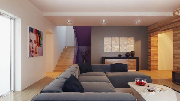 Wohnzimmer ideen wandfarben