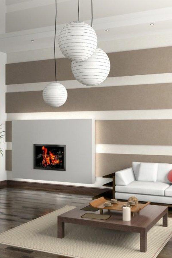 wohnzimmer ideen wandfarben. Black Bedroom Furniture Sets. Home Design Ideas