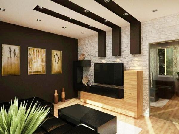 Wohnzimmer malen ideen