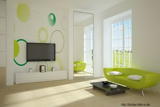 wohnzimmer w nde gestalten farbe. Black Bedroom Furniture Sets. Home Design Ideas