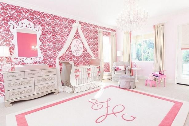 rosa zimmer ideen dekoration