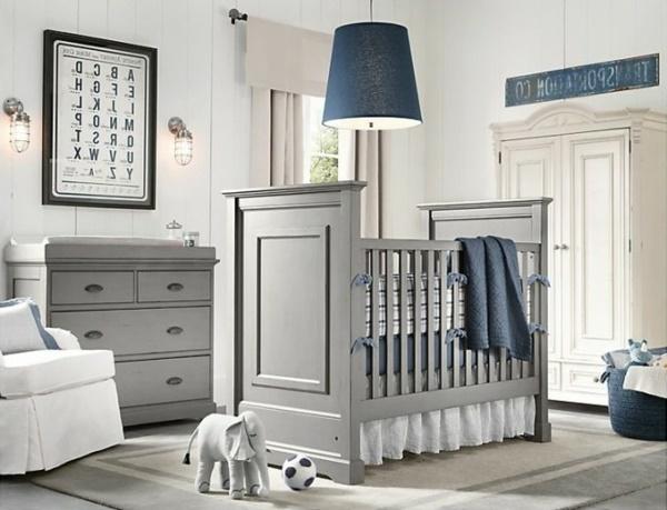 Babyzimmer blau grau - Babyzimmer grau ...