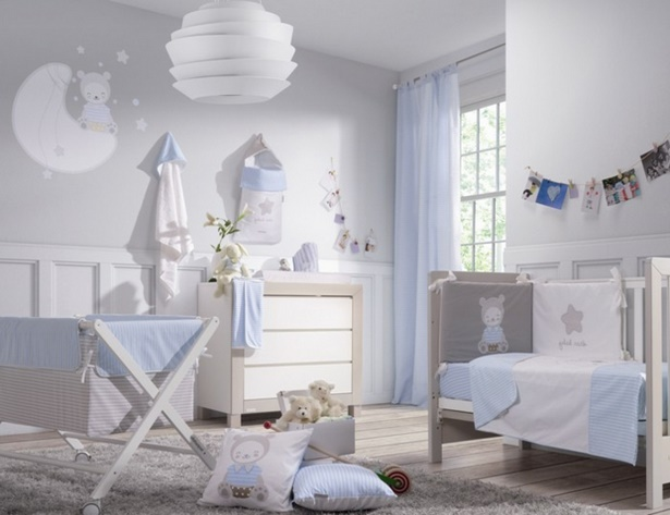 Babyzimmer blau - Gestaltungsideen babyzimmer ...