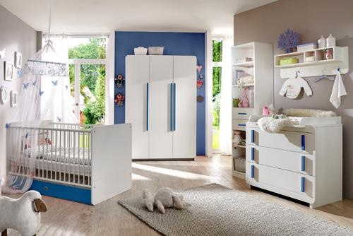 babyzimmer blau. Black Bedroom Furniture Sets. Home Design Ideas
