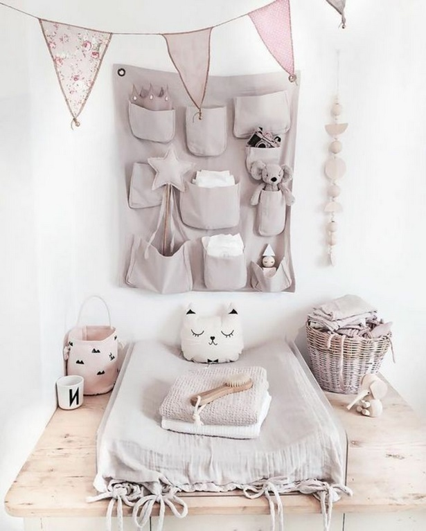 Babyzimmer deko rosa
