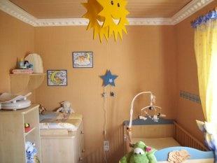 babyzimmer f r kleine r ume. Black Bedroom Furniture Sets. Home Design Ideas