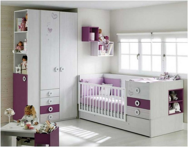babyzimmer komplett m dchen. Black Bedroom Furniture Sets. Home Design Ideas