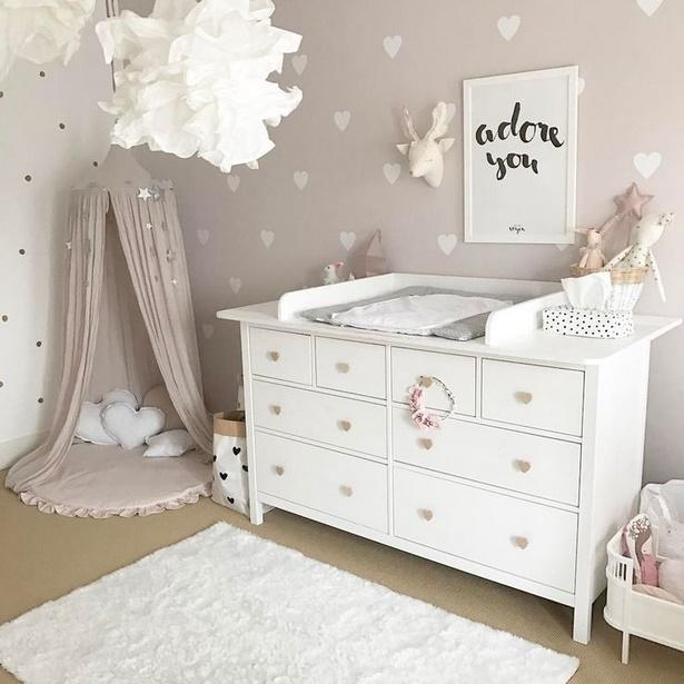 Babyzimmer m dchen gestalten - Babyzimmer tapete ...