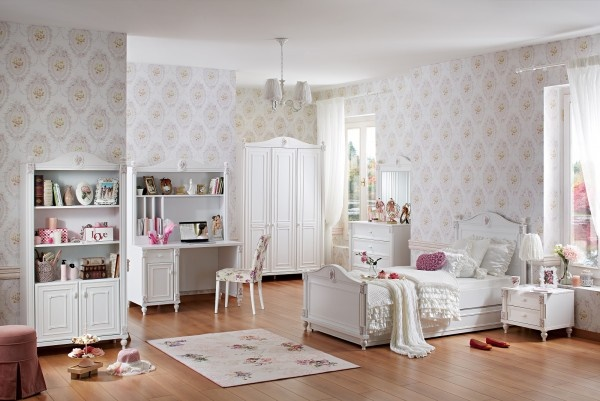 babyzimmer set m dchen. Black Bedroom Furniture Sets. Home Design Ideas