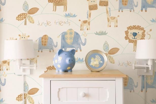 babyzimmer tapezieren. Black Bedroom Furniture Sets. Home Design Ideas