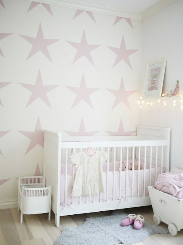 babyzimmer wand ideen. Black Bedroom Furniture Sets. Home Design Ideas