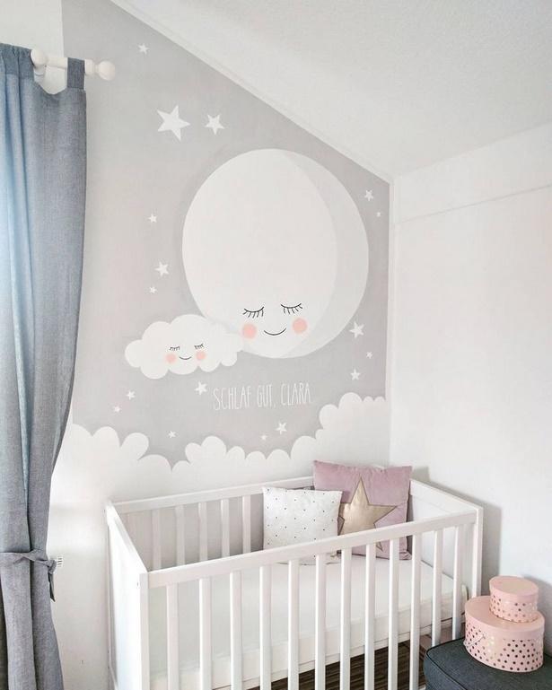 Babyzimmer wand ideen for Kinderzimmer clara