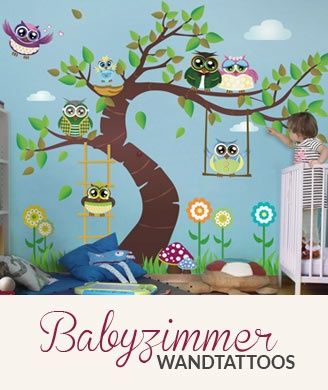 babyzimmer wand selbst gestalten. Black Bedroom Furniture Sets. Home Design Ideas