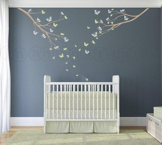 babyzimmer wandgestaltung malen. Black Bedroom Furniture Sets. Home Design Ideas