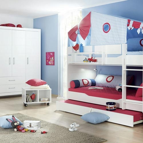 bett jungen kinderzimmer. Black Bedroom Furniture Sets. Home Design Ideas