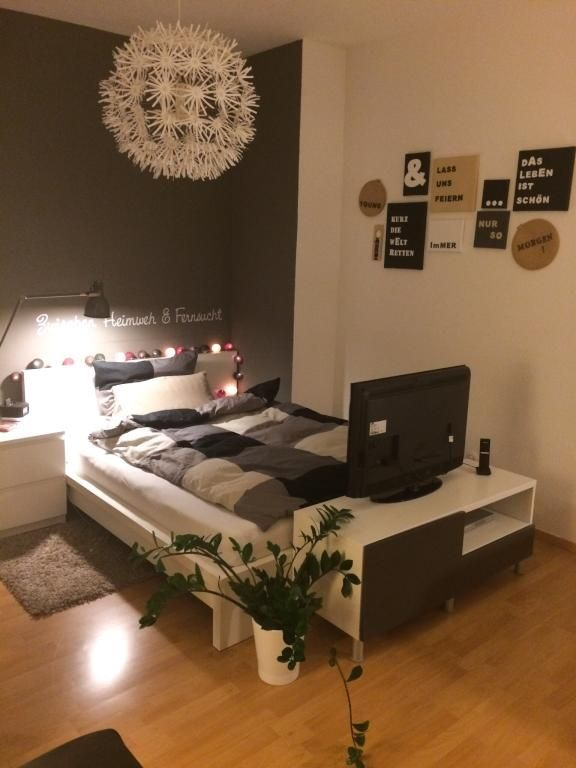 bett kleines zimmer. Black Bedroom Furniture Sets. Home Design Ideas