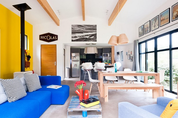 einrichtung gro es wohnzimmer. Black Bedroom Furniture Sets. Home Design Ideas