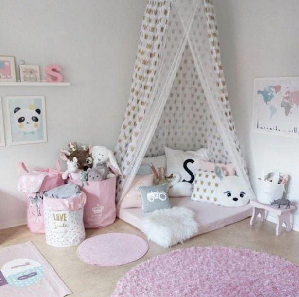 einrichtung kinderzimmer m dchen. Black Bedroom Furniture Sets. Home Design Ideas