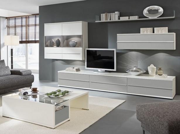 Einrichtung wohnzimmer wei for Wohnzimmer einrichten grau