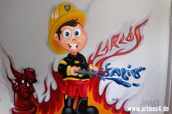 Feuerwehr kinderzimmer gestalten - Kinderzimmer impressionen ...